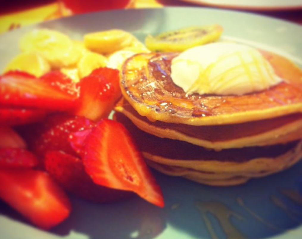 kahvaltılık pancake