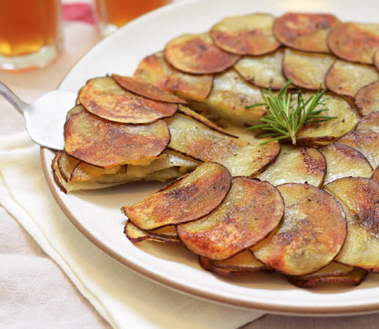 pırasalı patates