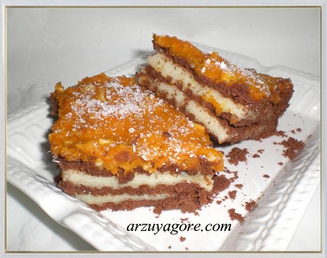 İrmikli balkabağı pastası
