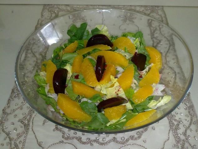 portakallı salata