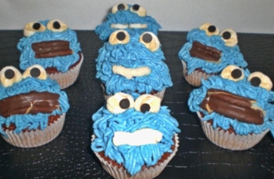 kurabiye canavarı muffin