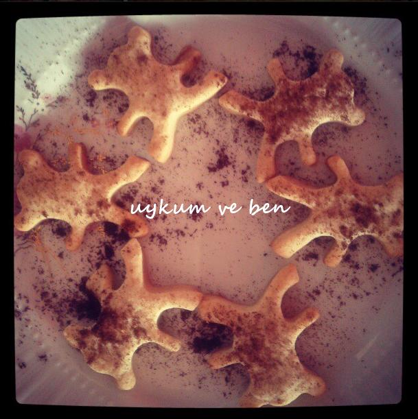 Türk kahveli kurabiye