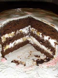 Kakaolu muzlu pasta