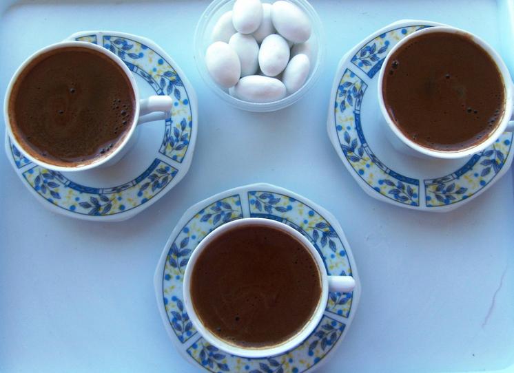 bademli türk kahvesi