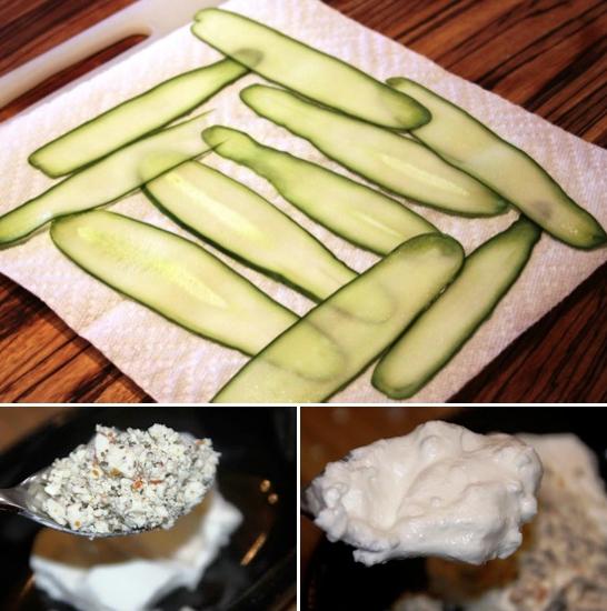 salatalık rulosu