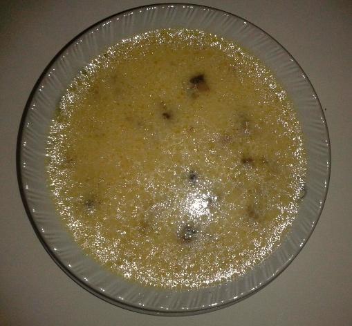 Mantarlı çorba