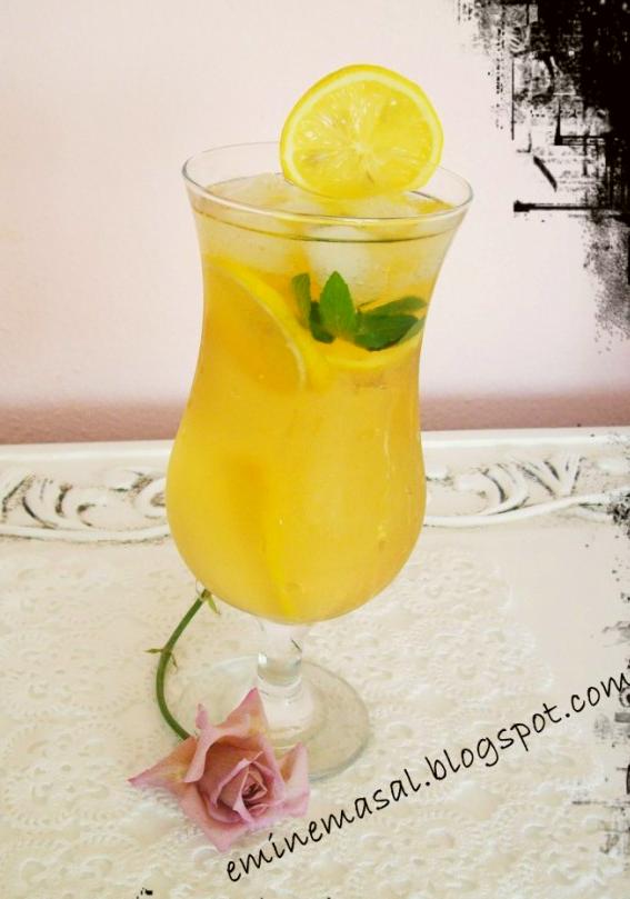 limonlu yeşil çay