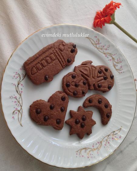 pudingli kurabiye