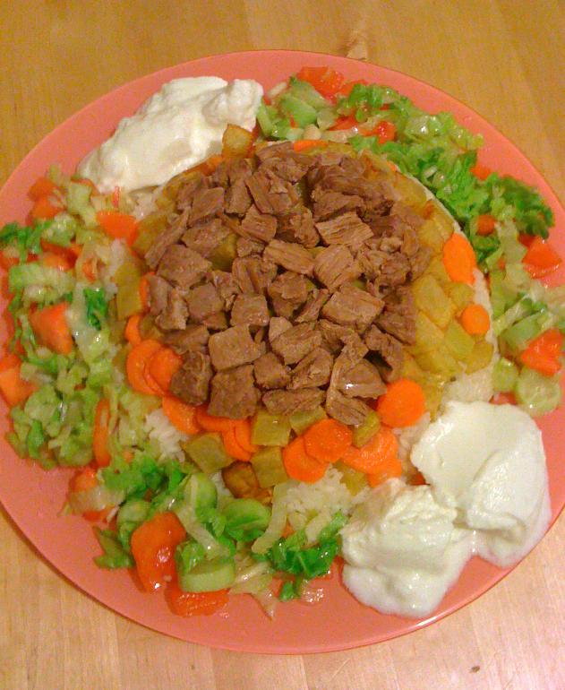 Maklube yemeği
