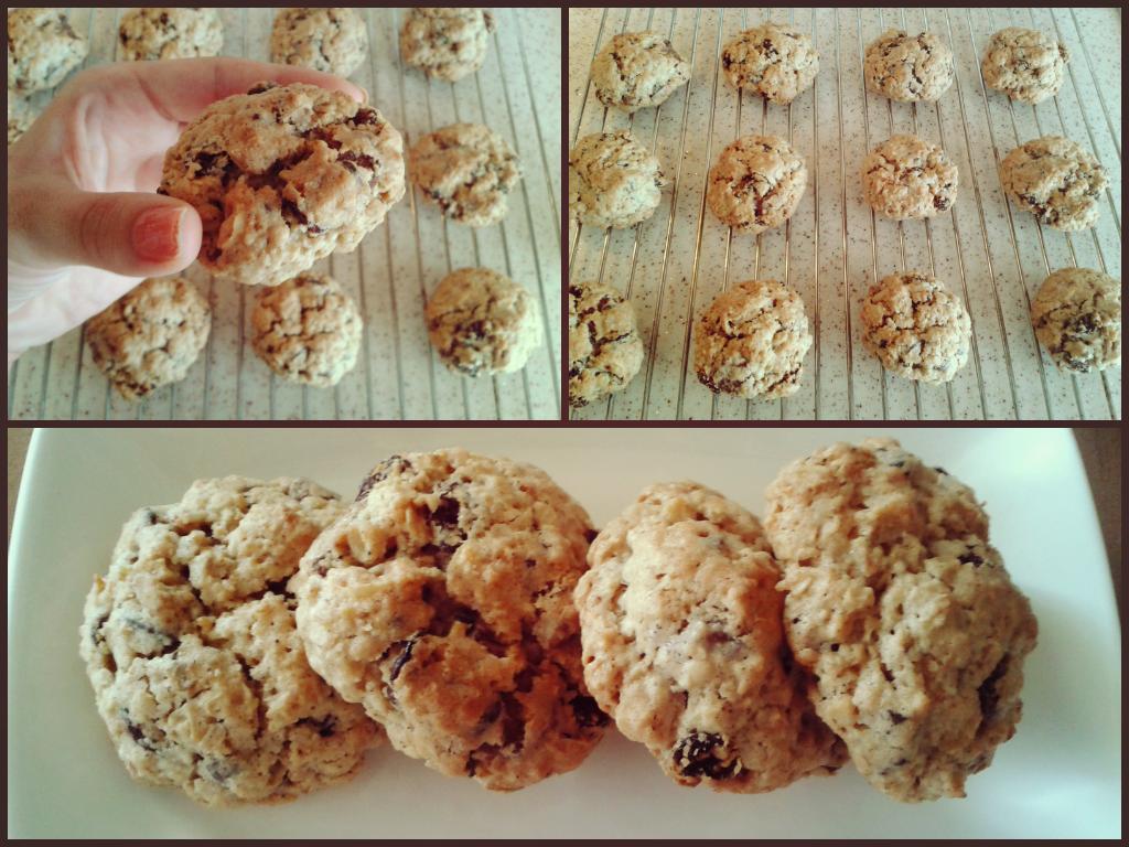 yulaflı üzümlü kurabiye
