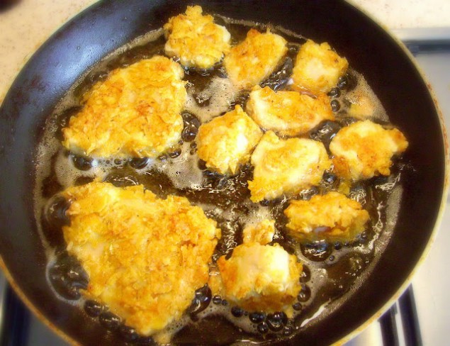 Cipsli çıtır tavuk