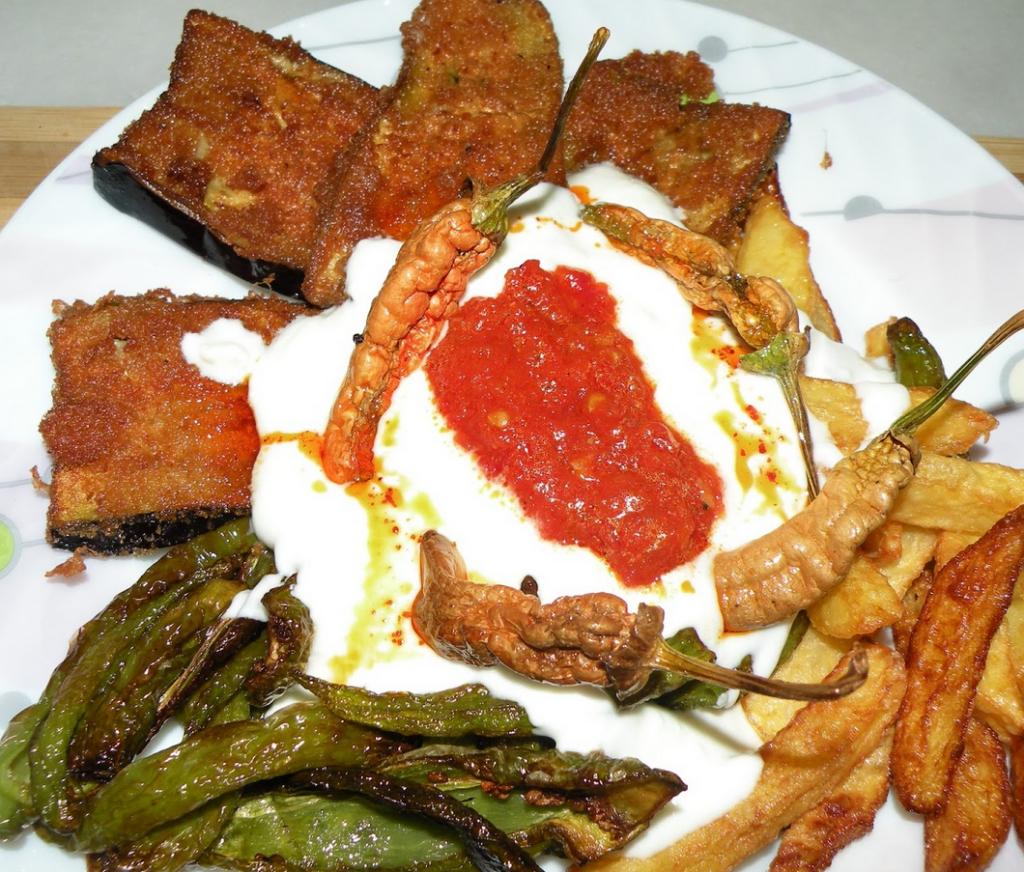 galeta unu patlıcan kızartması