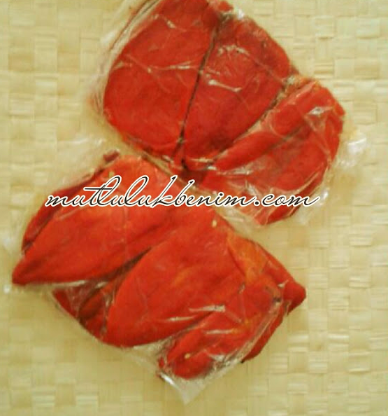 közlenmiş kırmızı biber