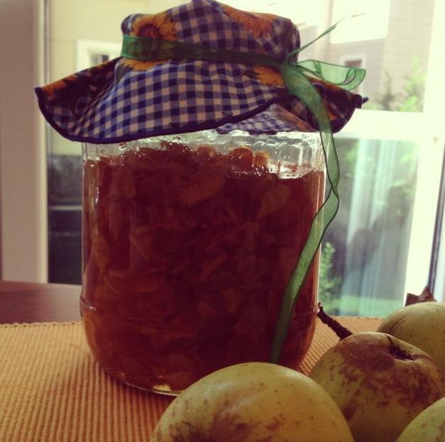 elma marmelatı