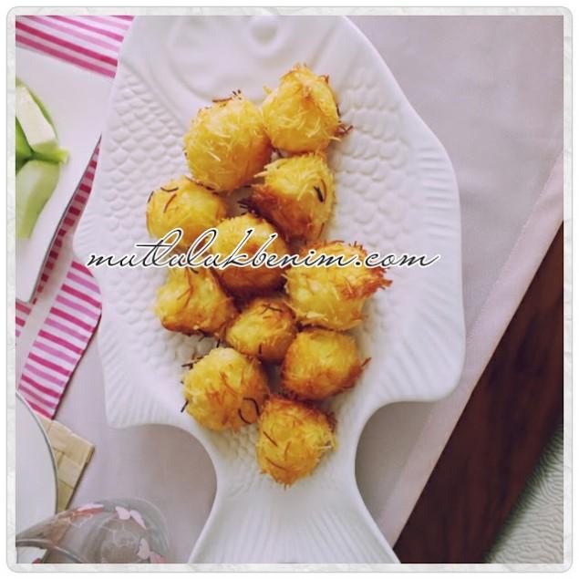 kızarmış patates topları