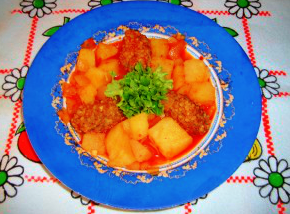 Bulgurlu köfte