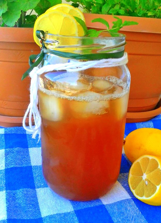 ev yapımı ice tea