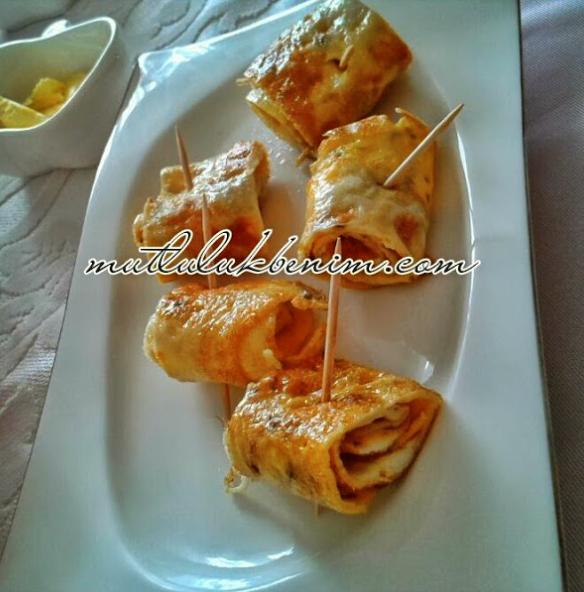 omlet sunumu