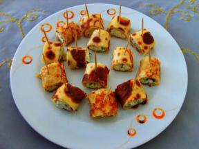 Peynirli krep