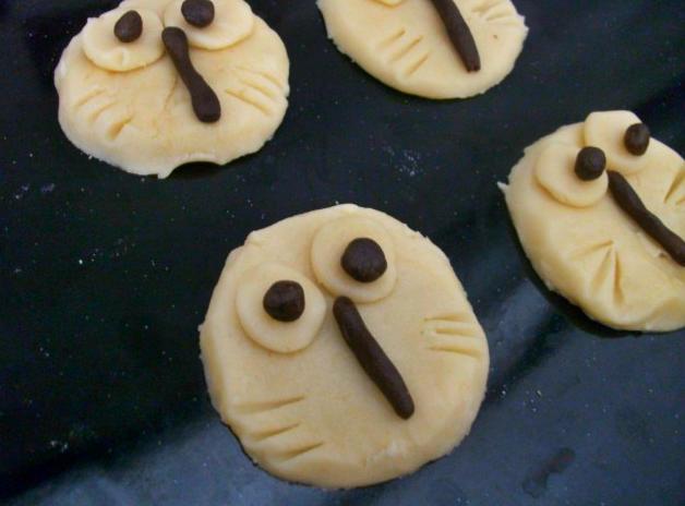 Baykuş kurabiye