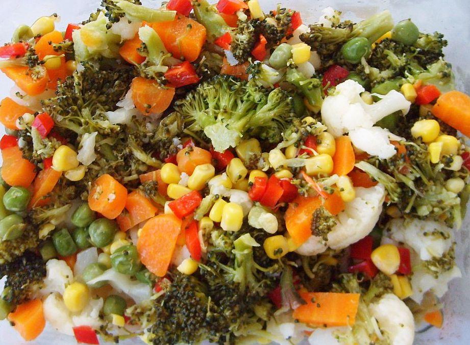 karışık sebze salatası tarifi