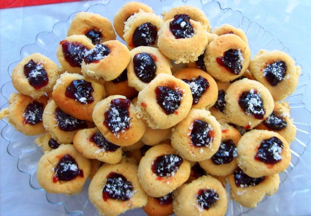 reçelli kurabiye tarifi