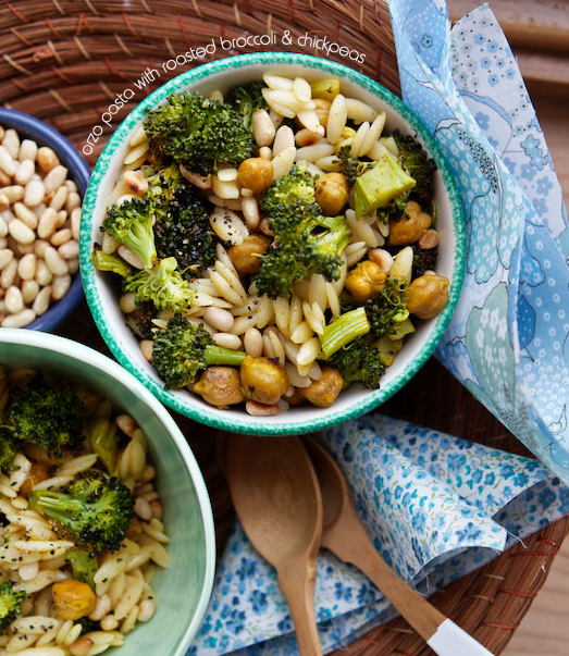 brokolili nohutlu arpa şehriye tarifi