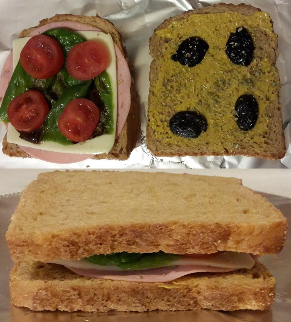 Pratik sandviç